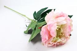 Искусственное растение - Цветок Пиона  розово-салатовый  SUN406-2032, LIU310