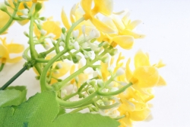 Искусственное растение - Цветы декоративные жёлтые