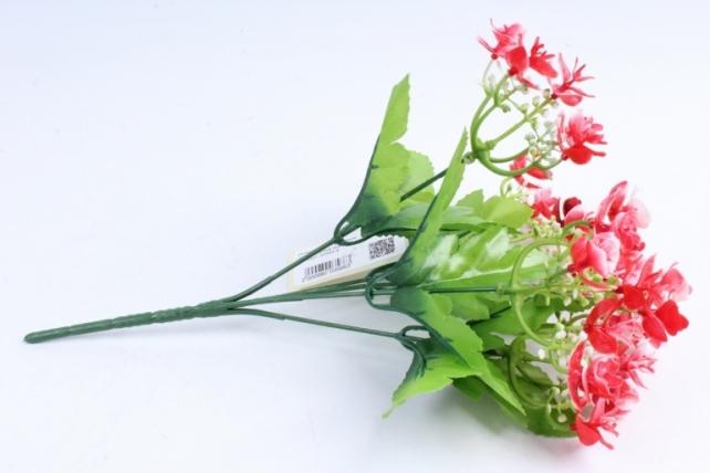 Искусственное растение - Цветы декоративные красные