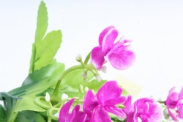 Искусственное растение - Цветы декоративные малиновые