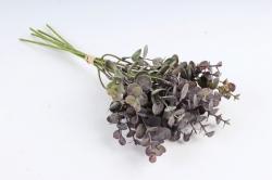 Искусственное растение - Эвкалипт мини латекс сиреневый (6 шт в уп) CZ042