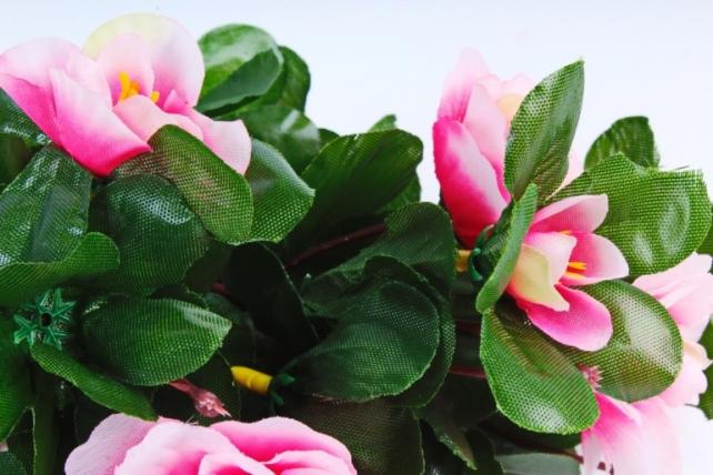 Искусственное растение - Жасмин бело-розовый 30 см