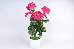 Искусственное растение - Герань малиновая