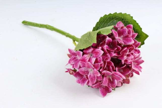 Искусственное растение - Гортензия  малиновая EJ024