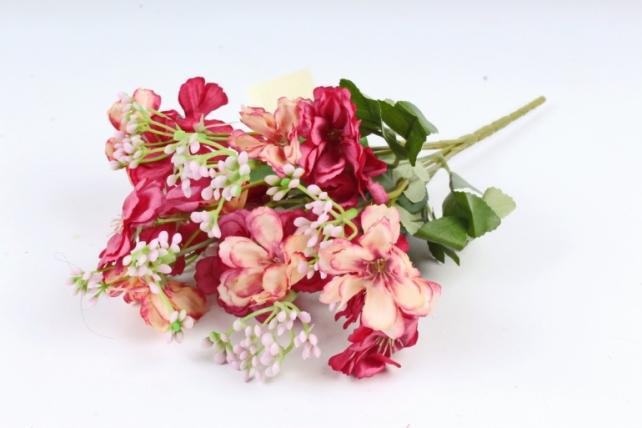 Искусственное растение - Гвоздичка травянка малиновая  Б10807