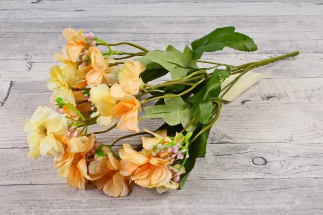 Искусственное растение - Гвоздичка травянка персиковая  Б10807