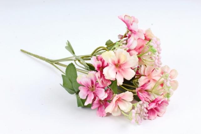 Искусственное растение - Гвоздичка травянка розовая  Б10807
