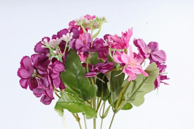 Искусственное растение - Гвоздичка травянка сиреневая  Б10807