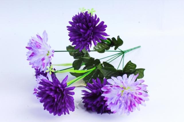 Искусственное растение - Гвоздика фиолетовая
