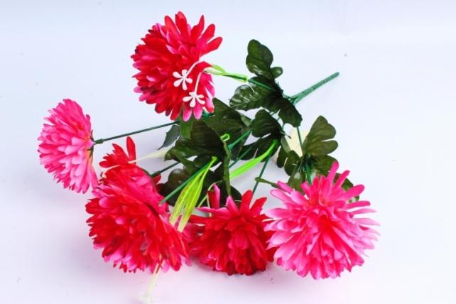 Искусственное растение - Гвоздика малиновая