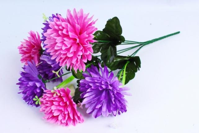 Искусственное растение - Гвоздика сиреневая