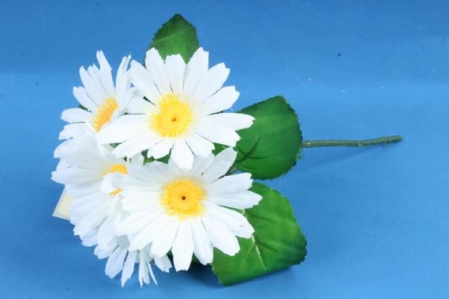 Искусственное растение - Хризантемы белые
