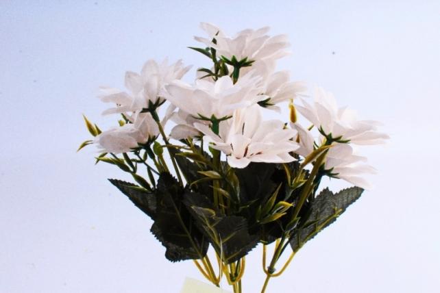 Искусственное растение - Хризантемы Винтаж экрю