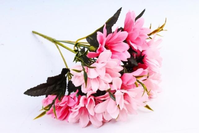 Искусственное растение - Хризантемы Винтаж розовая