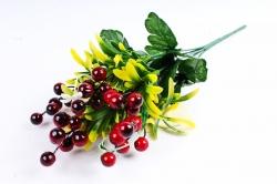 Искусственное растение - Калина бордо