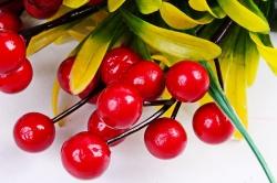Искусственное растение - Калина красная