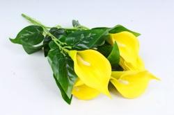 Искусственное растение - Каллы  жёлтые