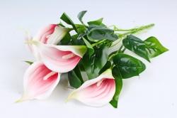 Искусственное растение - Каллы  красно-белые