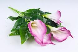 Искусственное растение - Каллы малиново-белые