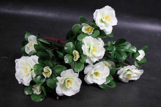 Искусственное растение - Камелия белая