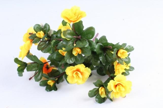 Искусственное растение - Камелия жёлтая