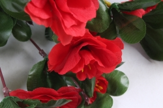 Искусственное растение - Камелия красная
