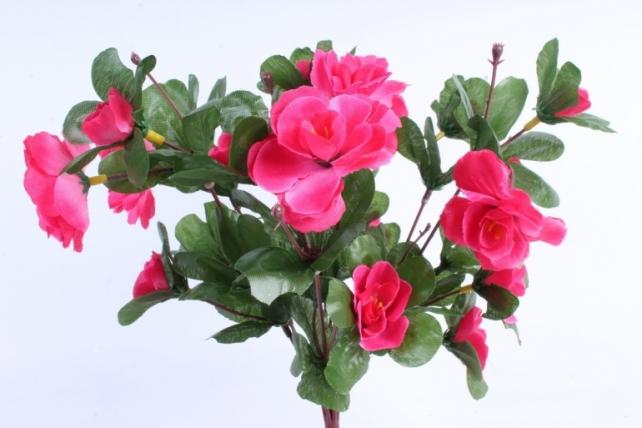 Искусственное растение - Камелия малиновая