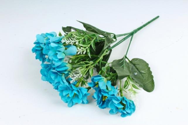 Искусственное растение - Камелия с вереском голубая