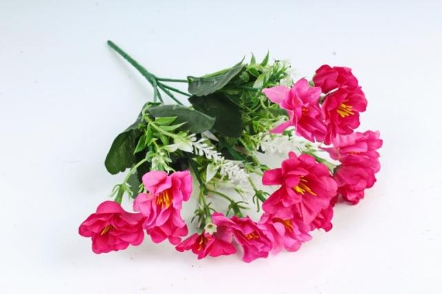 Искусственное растение - Камелия с вереском малиновая