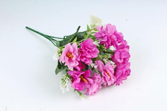 Искусственное растение - Камелия с вереском сиреневая