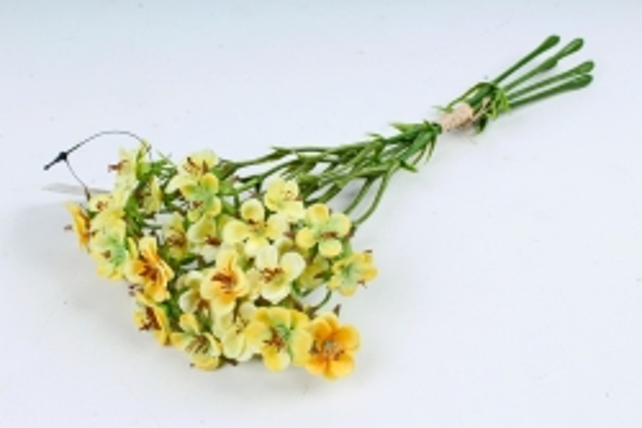 Искусственное растение - Камнеломка жёлтая SUN519