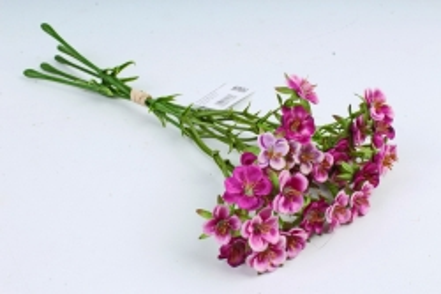 Искусственное растение - Камнеломка малиновая SUN519