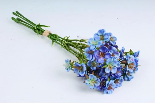 Искусственное растение - Камнеломка синяя SUN519