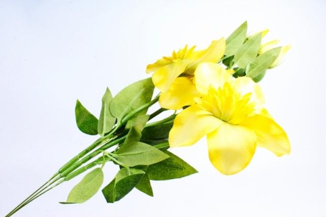 Искусственное растение - Клематис желтый   (3 шт в уп)  SUN540