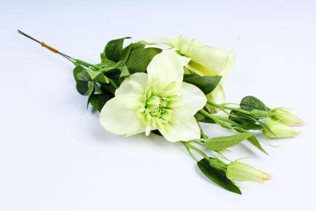 Искусственное растение - Клематис салатовый   (3 шт в уп)  SUN540