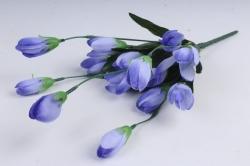 Искусственное растение - Крокус крупный фиолетовый 35 см Б10577
