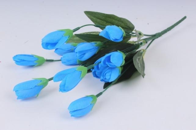 Искусственное растение - Крокус крупный синий 35 см Б10577