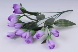 Искусственное растение - Крокус крупный сиреневый 35 см Б10577