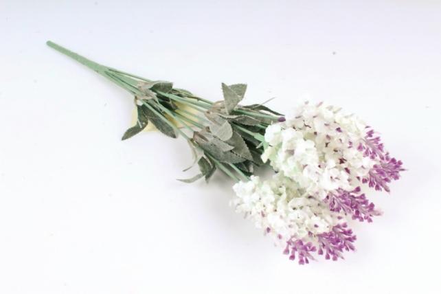Искусственное растение - Лаванда горная 2-х цветная  Б10349