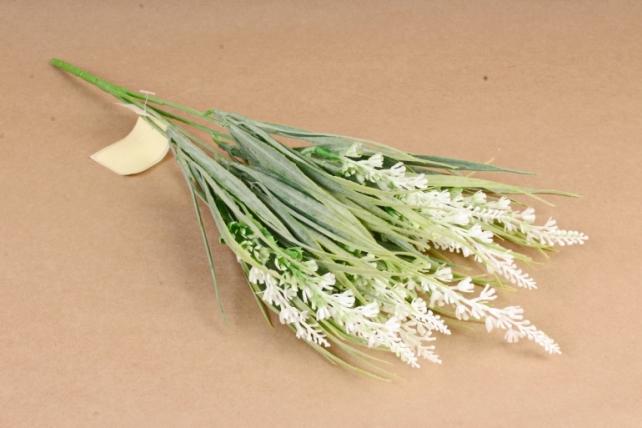 Искусственное растение - Лаванда Туманный Прованс белая Б10624