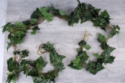 Искусственное растение - Лиана плющ зеленый (5шт в уп)