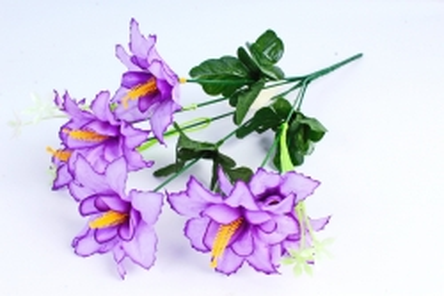 Искусственное растение - Лилейник фиолетовый