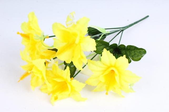 Искусственное растение - Лилейник желтый
