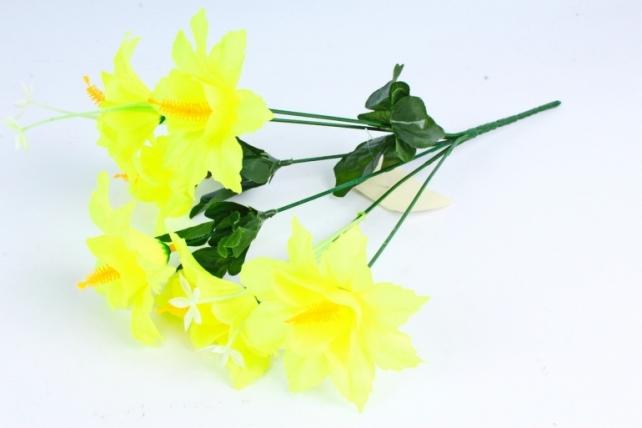 Искусственное растение - Лилейник лимонный