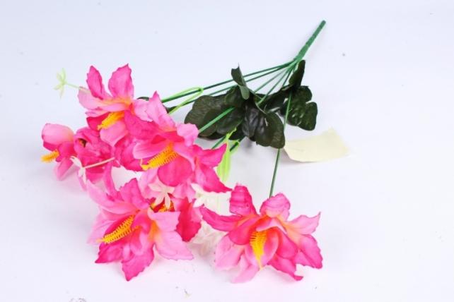 Искусственное растение - Лилейник малиновый