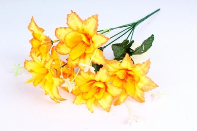 Искусственное растение - Лилейник неон