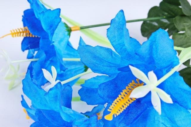 Искусственное растение - Лилейник синий