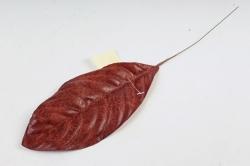 Искусственное растение - Лист Кротона коричневый  DY1-2235