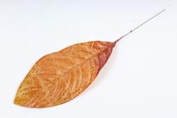 Искусственное растение - Лист Кротона охра  DY1-2235