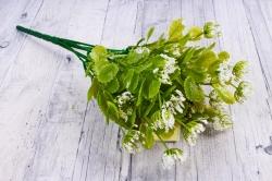 Искусственное растение - Листики декоративные белые